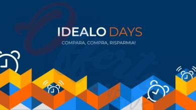 Photo of Idealo days: lo shopping event italiano con prodotti scontati che si terrà il 30 e 31 marzo 2020