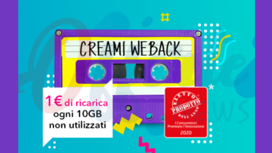 Photo of PosteMobile Creami WeBack: minuti ed SMS illimitati, 50 Giga e bonus di ricarica per i Giga residui