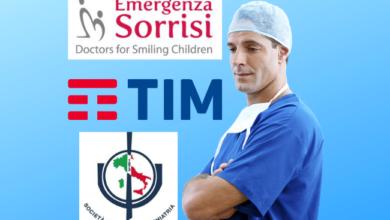 Photo of Emergenza Sorrisi, SIP e Tim: numero verde per il sostegno psicologico del personale medico