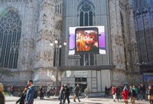 Photo of Il maxi schermo Samsung del Duomo di Milano a disposizione della Milano Digital Fashion Week