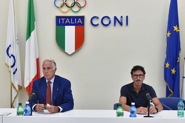 conferenza coni olimpiadi