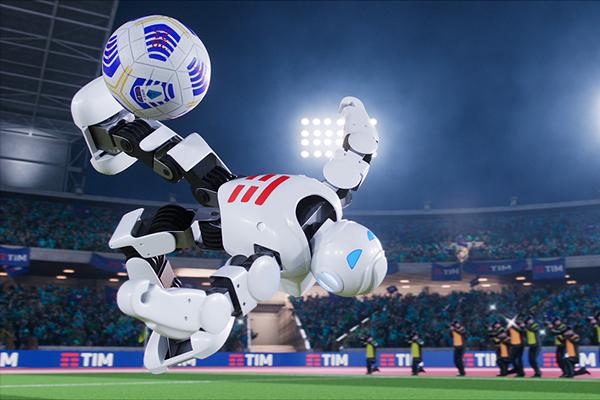 tim serie a robot calcio