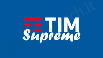 Photo of TIM: ultimi giorni per attivare Tim Supreme New con minuti e 50 Giga a 5,99 euro al mese