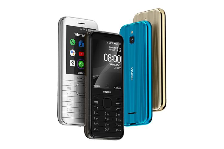 nokia 8000 feature phone