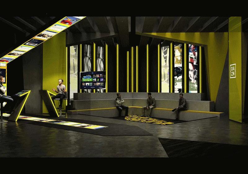 DAZN studio square